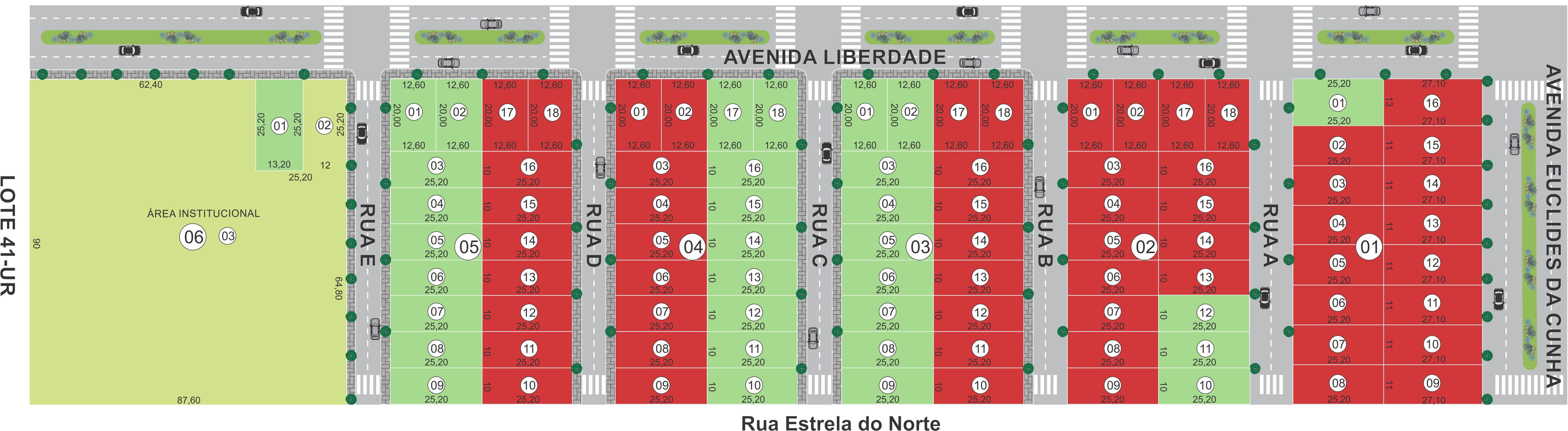 Loteamento em Terra Rica-PR